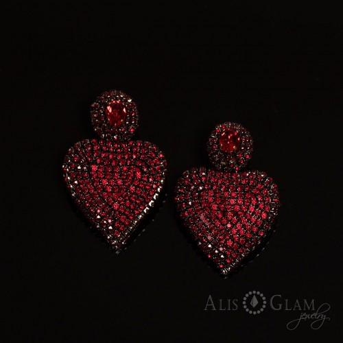 Серьги Сердце